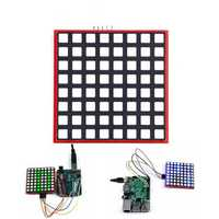 LED Full Color 8x8 RGB Dot Matrix Screen Module For Arduino Raspberry Pi 3/ 2/ B+