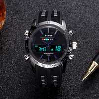 STRYVE S8005 Fashion Chronograph Dual Display Digital Watch