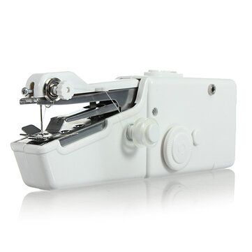 Loskii BX 215 Portable Mini Electric Handheld Sewing Machine Travel Household Cordless Stitch
