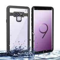 Bakeey IP68 Waterproof Case For Samsung Galaxy Note 9 Dirtproof Shockproof Snowproof Full Cover
