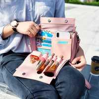 Brenice Women Multifunction Cosmetic Handbag
