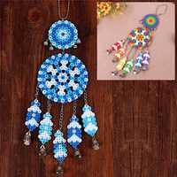 DIY Dream Catcher Windbell Kit Perler 5mm Fuse Beads Kid Craft Toy Decor