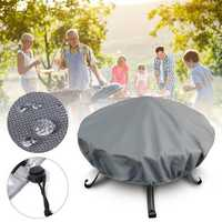 130cm Round Waterproof Dutyproof Large Protect Premium For Livivo BBQ Grill Barbecue Grill Cover
