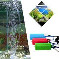 Portable Mini USB Aquarium Fish Tank Oxygen Air Pump Mute Energy Saving Supplies USB Oxygen Pump