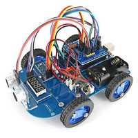 4WD bluetooth Control Smart Robot Car Kit with Motherboard & N20 Gear Motor for Arduino UNO R3 Nano