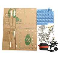 DIY Lift Elevator Kit Science Educational Develop Toy Assembly Material Package For Children