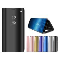 Bakeey Smart Sleep Mirror Window View Bracket Case For Samsung Galaxy S7 Edge