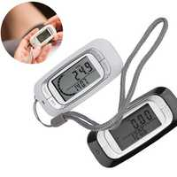 3D Sensor Running Walking Pedometer Steps Counter Calorie Burnt Calculator
