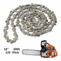 18 Inch 60 Drive Substitution Chain Saw Saw Mill Chain 3/8 Inch Links Pitch 050 Gauge