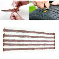 5 x Tubeless Tire Tyre Puncture Repair Strip String Kit Plug Car Bike Motorcycle