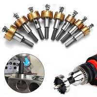 13pcs 16-53mm Hole Saw Drill Bit HSS Titanium Coated Hole Saw Cutter for Metal Wood Alloy