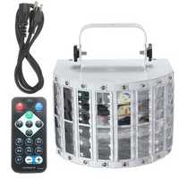 30W Led DMX512 RGBW Stage Light Auto/Sound Control 9 Color DJ Disco + Remote
