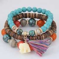 Bohemian Multilayer Bracelet