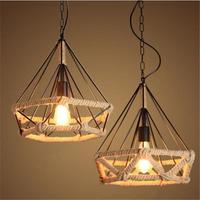 E27 Industrial Retro Loft Ceiling Light Chandelier Pendant Lamp for Bedroom Restaurant Corridor