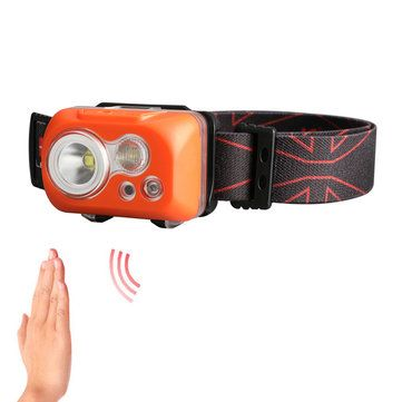 KLARUS HC1 S 2 LEDs 300LM 5 Modes 60° Adjustable IPX8 Waterproof Motion controlled Cycling Headlamp