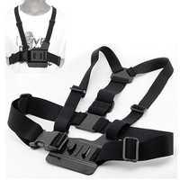 Adjustable Chest Body Harness Belt Strap Adapter Mount F Gopro Hero 1 2 3 Camera