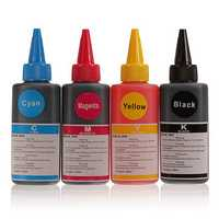 100ML Universal 4 Colors Refill Printer Ink For HP Canon Lexmark Epson Dell Brother Inkjet Printer