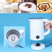 0.3L 220V Electric Fully Automatic Hot/Cold Milk Frothing Heater Coffee Foam Maker Cream Machine
