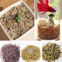 80g DIY Micro Landscape Mini Stone Decoration Garden Succulent Plants Flower Pot Decor