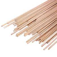 450g 3/32inch Gold Silicon Bronze Tig Welding Rods 91cm Long Rod 2mm Diameter 50000PSI