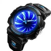 SKEMI 1521 Creative Dial LED Backlight Men Quartz Watch
