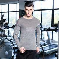 Mens Super Elastic Breathable Skinny Tops