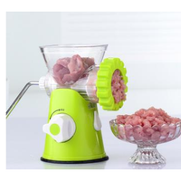 Manual Meat Grinder Cutter Slicer Mincer Sauce Maker Sausage Multi Tools Kitchen