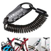 BIKIGHT ET-152 Mini Portable Anti Theft Resettable 3 Digit Bike Helmet Lock Spring Combination