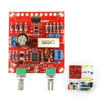 Original Hiland DIY 0-30V 0-1A LM317 Adjustable Voltage Current Power Supply Kit With LED Instruction