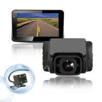 T689S Concealed Front And Rear Dual Channel Driving Recorder Built-in GPS Car DVR