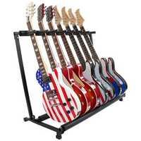 GS-7 Multifunctional Guitar Holder Musical Instrument Guitar Folding Rack