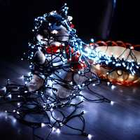 KCASA SSL-13 LED 7M 50LED Solar Panel String Light Holiday Garden Christmas Wedding Decoration