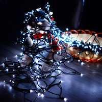 KCASA SSL-13 LED 7M 50LED Solar Panel String Light Holiday Garden Christmas Wedding Decoration
