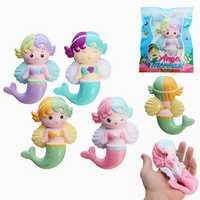 Oriker Squishy Angel Mermaid 16cm Soft Sweet Slow Rising Original Packaging Collection Gift Decor