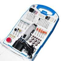 110PCS Electric Polisher Set AC 110-230V Electric Rotary Drill Grinder Engraver Polisher DIY Tool Set
