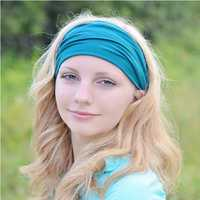 omens Cotton Good Elastic Wicking Yoga Headband