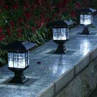 LED Solar Power Outdoor Garden Yard Light Lawn Path Landscape Lamp Decor
