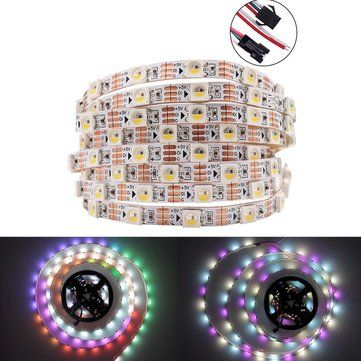 DC5V 1M 5M WS2812B RGBW RGBWW 4 IN 1 Non Waterproof 5 Pins LED Strip Light for Home Decor