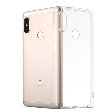 Bakeey Transparent Ultra thin Soft TPU Protective Case For Xiaomi Mi A2 / Xiaomi Mi 6X