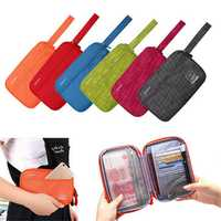 Multifunctional Passport Holder Phone Wallet Bag For iPhone X/8/8 Plus/Samsung Galaxy S9/S9 Plus