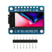 Geekcreit® 0.96 Inch 7Pin HD Color IPS Screen TFT LCD Display SPI ST7735 Module For Arduino