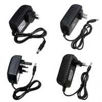 AC100-240V to DC12V 3A 36W EU US UK AU Plug Power Supply Adapter for LED Strip Light 5.5*2.1mm