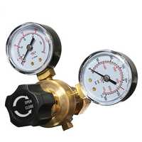 Double Table Argon Flow Meter Regulator W21.8 Joint