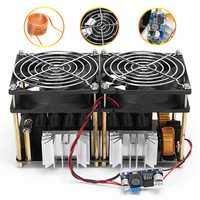 1800W 40A ZVS Induction Heating Board Module Flyback Driver Heater+Tesla coil+fan