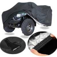 Quad Bike Tractor ATV Cover Anti-UV Rain Waterproof Heatproof XXXL
