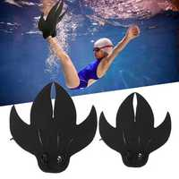 Adult Kids Mermaid Tail Diving Flippers Swimmable Monofin Mono Swimming Fin Foot Shoes