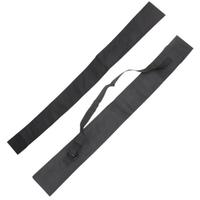 45 Inch (115cm) Black Pool Cue Bag for 3/4 Billiard Stick Storage Fishing Rod Case