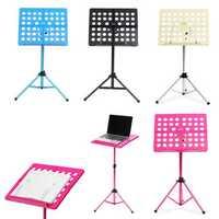 Zebra Adjustable Foldable Alloy Music Rack Stand For Guitar Violin Ukulele Musical Instruments