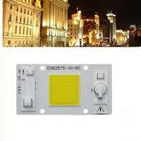 LUSTREON 30W 50W Warm White/White LED COB Chip Light for Downlight Panel Flood Light Source AC180-260V