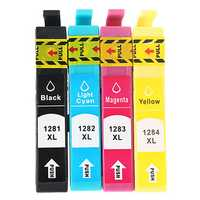 Mengxiang T1281-T1284 Print Ink Cartridge for EPSON STYLUS S22/SX125/SX420W/SX425W/OFFICE BX305F